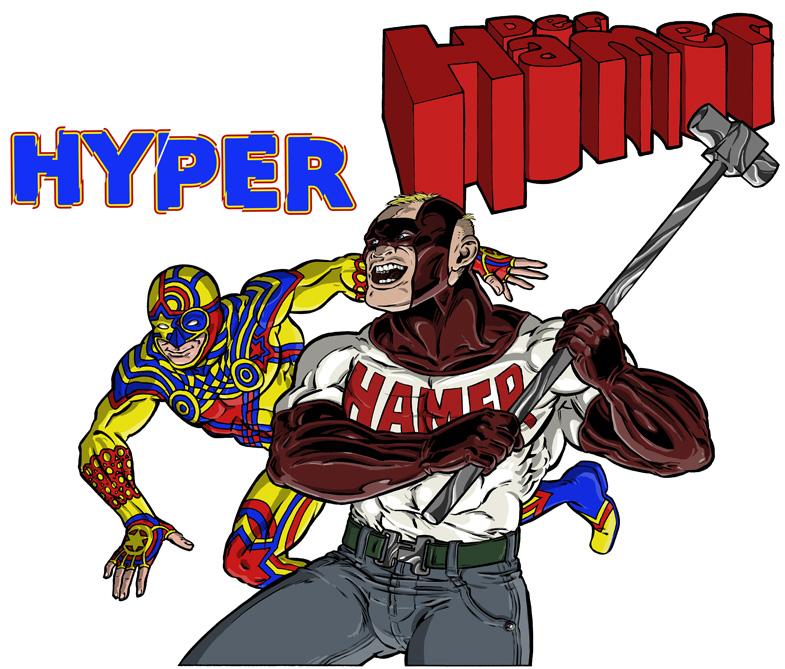 Snapshot: Hyper und Der Hamer